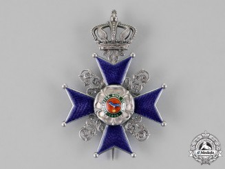 Lippe, Principality. A Leopold Order, 2nd Class Cross, c.1916