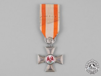 Prussia, State. An Order of the Red Eagle, 4th Class Cross, c.1880