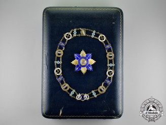 India, Patiala State. An Order of the Holy Saint, Collar & Star, by Spink & Son, c.1935