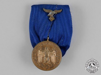 Germany. A Luftwaffe 12-Year Long Service Medal, Mounted Court-Style