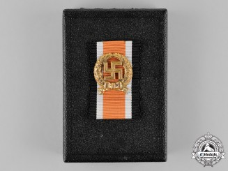 Germany. A Wehrmacht Heer (Army) Honour Roll Clasp in Case