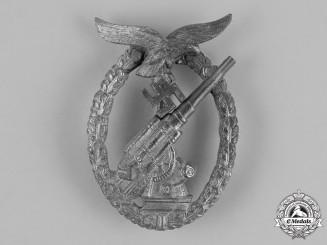 Germany. A Luftwaffe Flak Badge by E. Ferdinand Wiedmann