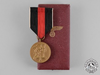 Germany. An Entry into the Sudetenland Commemorative Medal, by Paul Meybauer
