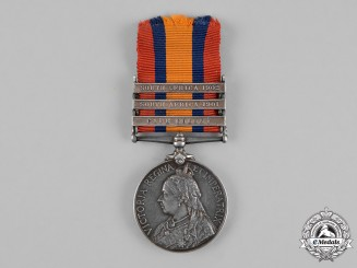 Great Britain. A Queen's South Africa Medal 1899-1902, to Staff Sergeant H. Graham