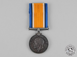 Canada. A First War British War Medal, to Gunner Henery Addison Williams, Canadian Field Artillery