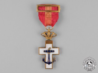 Spain, Kingdom. An Order of Naval Merit, 1st Class with White Distinction, c. 1872-1876