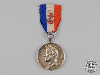 France, July Monarchy. A Ministry of Marine and Colonies Honour Medal (AKA Life Saving Medal), 2nd Class, Type IV, to John Summers 1833