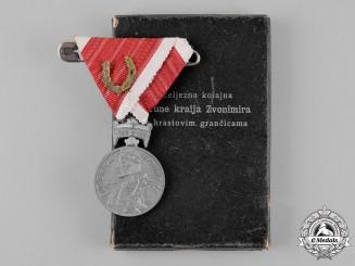 Croatia. A Merit Medal of King Zvonimir. c.1943