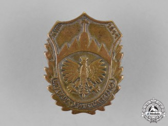 Poland. The Holy Cross Mountains Brigade Badge