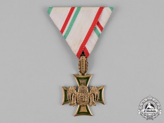 Hungary, Regency. A Rare Hungarian 1st. Class Long Service Cross