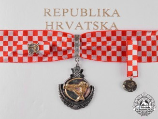 Croatia, Republic. An Order of Duke Domagoj