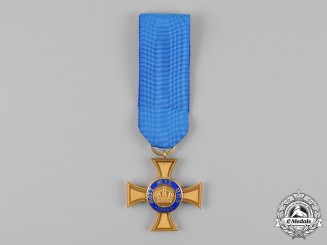 Prussia. A Royal Order of the Crown, Fourth Class, c.1910