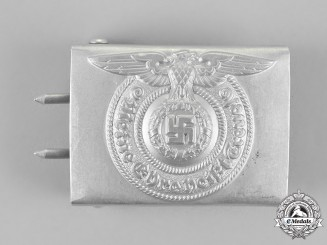 """Germany. An SS EM/NCO'S Buckle by """"RZM 822/38 SS"""""""