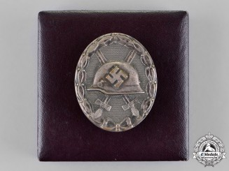 Germany. An Early Silver Grade Wound Badge by the Official State Mint of Vienna