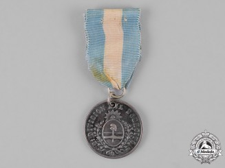 Argentina. A Andes Campaign Medal 1882-1883, Silver Grade