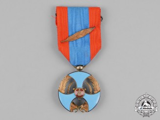 Iran, Pahlavi Empire. A Military Order of Merit, 3rd Class, Bronze Grade