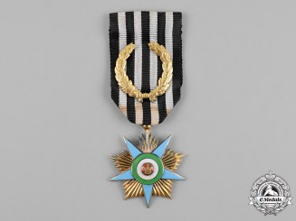 Iran, Pahlavi Empire. An Order of Glory, Gold Grade Star