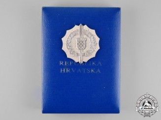 Croatia. An Order of Petar Zrinski and Frank Krste Frankopan (with Silver Wreath) 1995