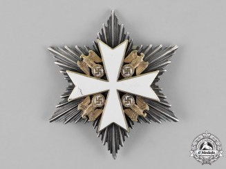 Germany. An Order of the German Eagle, Breast Star to the Merit Cross, by Deschler