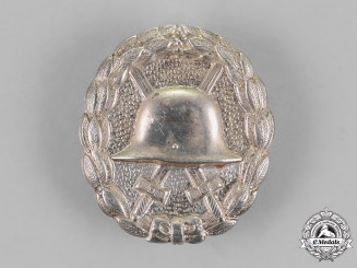Germany. A First War German Imperial Wound Badge; Silver Grade