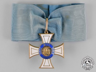 Prussia, State. An Order of the Crown in Gold, Commander's Cross, by Wagner, c.1910
