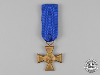 Prussia, State. A 25-Year Long Service Cross for Officers