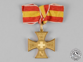 Baden. A Cross for Voluntary War Aid