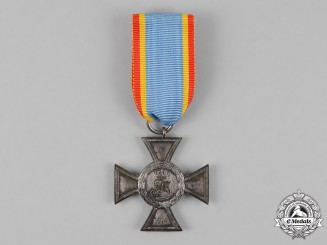 Mecklenburg-Strelitz. A Cross for Distinction in War, Second Class
