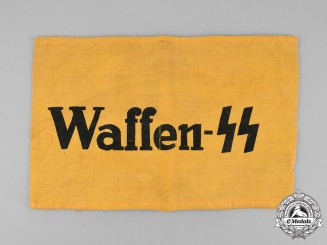 Germany, SS. An Auxiliary Member's Armband