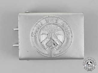 Germany, HJ. A Standard Issue Belt Buckle, by Klein & Quenzer