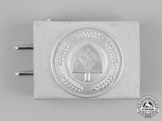 Germany, RAD. A National Labour Service Belt Buckle, by Overhoff & Cie