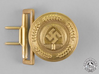 Germany, RAD. A National Labour Service General Officer Service Belt Buckle