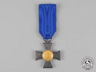 Prussia, State. A Milita 20-Year Long Service Cross, First Class for Officers