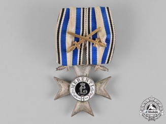 Bavaria, Kingdom. A Military Merit Cross Second Class, with Crown & Swords
