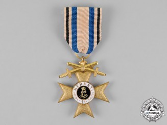 Bavaria, Kingdom. An Order of Military Merit, War Merit Cross First Class, With Swords
