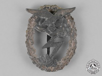 Germany, Luftwaffe. A Ground Assault Badge, by Rudolf Karneth of Gablonz
