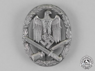 Germany, Wehrmacht. A General Assault Badge, by Rudolf Karneth