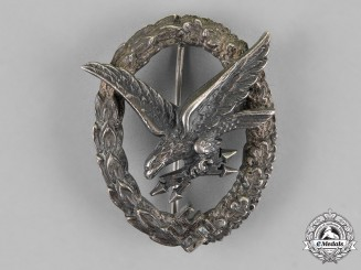 Germany, Luftwaffe. A Radio Operator Badge, by Juncker
