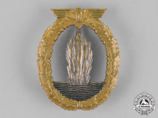 Germany, Kriegsmarine. A Minesweeper Badge, by Rudolf Karneth
