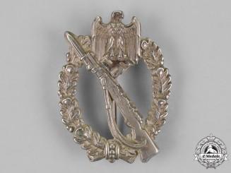 Germany. An Infantry Assault Badge, Silver Grade, Juncker