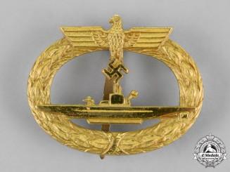 Germany, Kriegsmarine. A Submarine Badge, by Schwerin