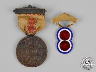 United States. Two Philippine Service Awards 1899-1901