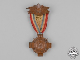 United States. A National Association of Spanish American War Veterans Membership Badge