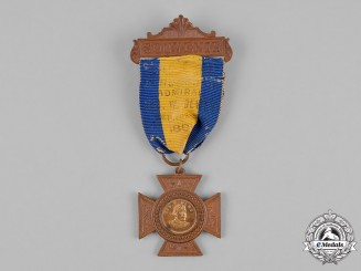 United States. A Souvenir Medal for the Reception of Admiral George W. Dewey in New York 1899