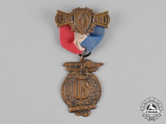 United States. A United Veterans of the Republic Membership Badge