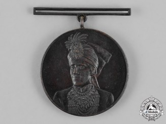 India, Bahawalpur. An Installation Medal 1924, Bronze Grade
