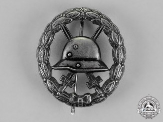 Germany, Empire. A Wound Badge, Black Grade