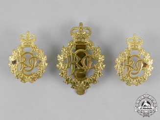 Canada. A QEII Royal Canadian Army Dental Corps Insignia Set