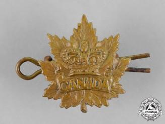 Canada. A Victorian Boer War Era General Service Collar Tab