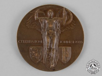 Italy, Kingdom. A Birth of Emmanuel Philibert & the 10th Anniversary of Victory Medal 1928